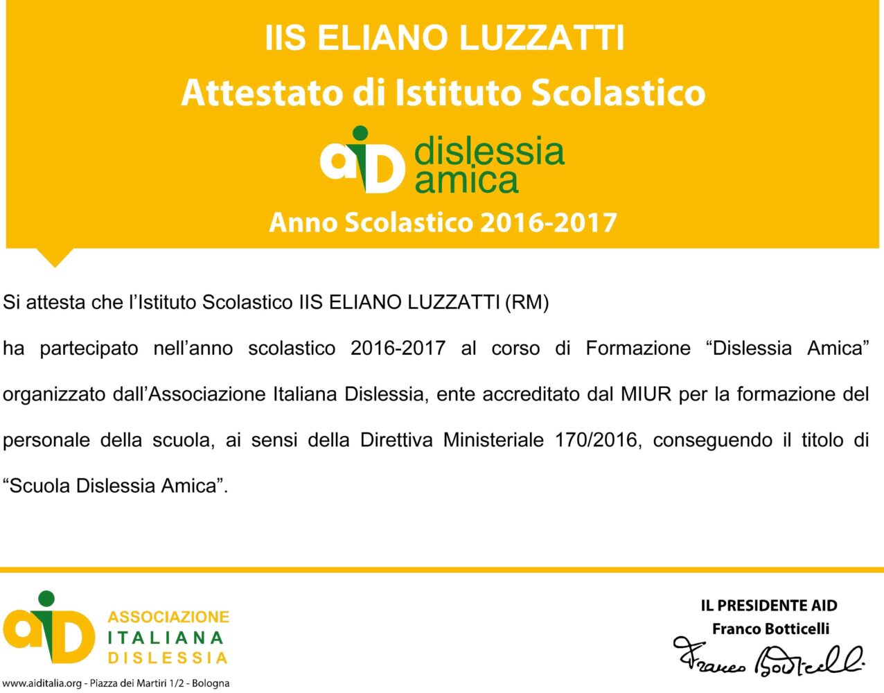 Certificazione-dislessia