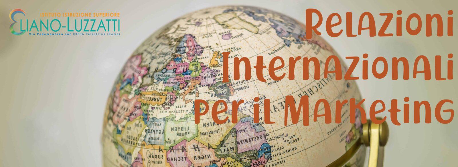 Attivazione Relazioni Internazionali per il Marketing