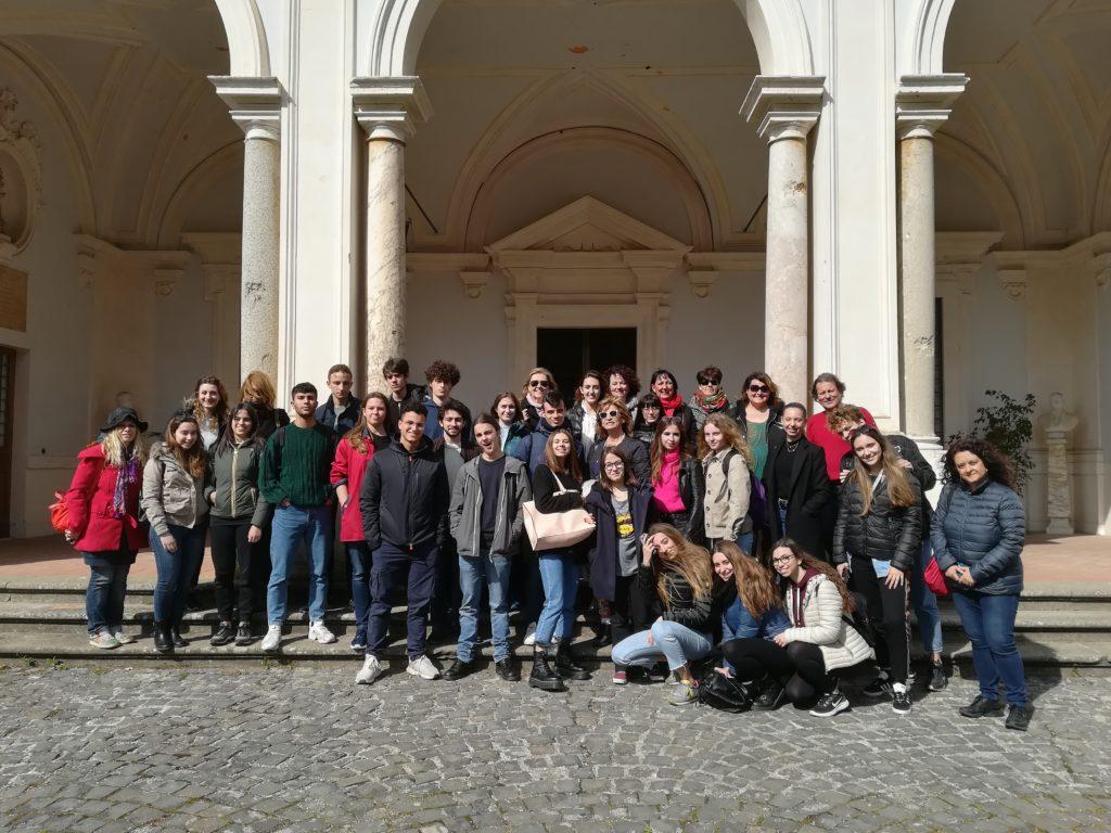 I partecipanti del Primo Certamen  archeologico del Mediterrano