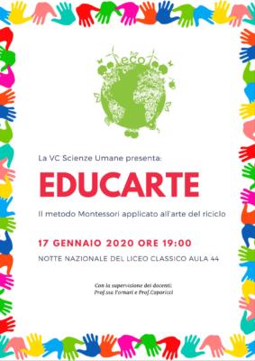 Locandina Educarte (5C SU)