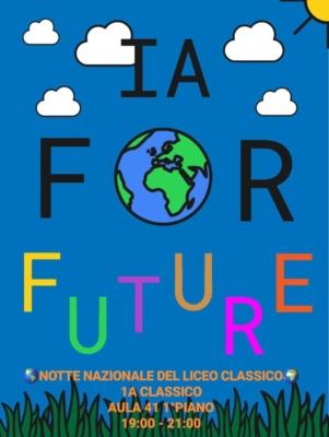 Locandina IA for Future (1A Classico)