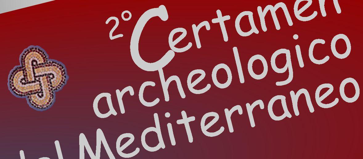 Banner del Secondo Certamen del Mediterraneo